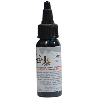 Skin Ink High Quality Brightest Tattoo Ink (Grey) Made In USA