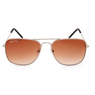 2dfdc8ae691 Buy Royal Son UV Protected Caravan Square Sunglasses For Men and Women  (RS0023AV