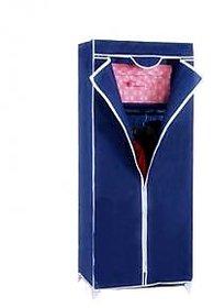 gizmo-dealz Single Door Metal Folding Foldable Wardrobes Cupboard Almirah (Multicolor)