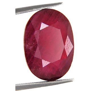 10.88 Ct Certified Precious New Burma Ruby Gemstone
