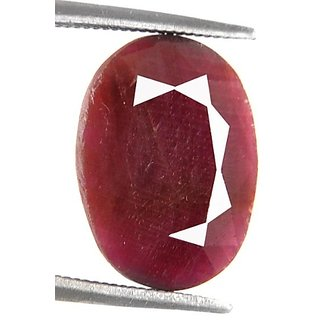 5.69 Ct Certified Natural African Ruby Gemstone