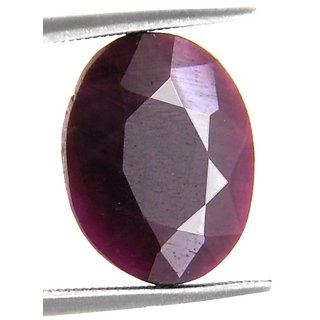 7.55 Ct Precious Certified Natural African Ruby Gemstone