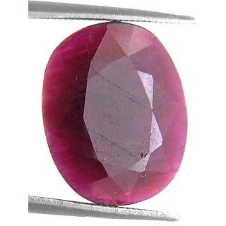 6.70 Ct Certified Precious Natural African Ruby Gemstone