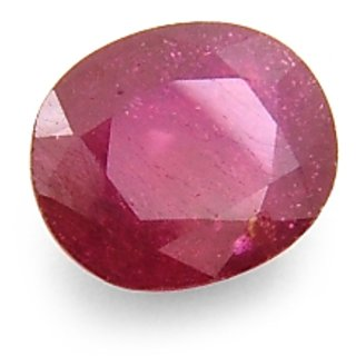 6.84 Carat Igli Certified New Burma Ruby Gemstone