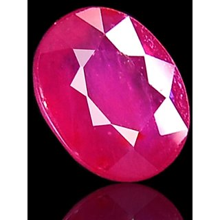 8.39 Ct Certified Oval Mixed Ruby Stone