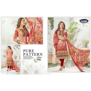 Womens Cotton Unstitched Salwar Suit Dress Material