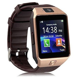 Brown  Bluetooth Smart Watch with SIM Card Slot Smart Health Watch Independent Smartphone Smartwatch