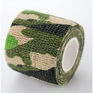 Tattoo Magic Bandage For Tattoo Tubes Tattoo Grip (Pack of 2 Military)