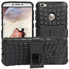 SIFAT  Letv Le 1s / Le Eco Dual body Armor defender kick stand Hybrid cover case - BLACK