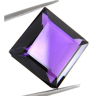 14.14 Ct Ertified Emerald Cut Amethyst Gemstone