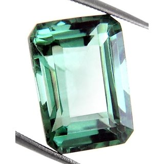 12.27 Ct Natural Certified Brazilian Green Amethyst Stone