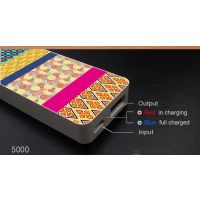 Power Bank 5000 MAh New Designer Slim Pocket Size Free Diwali Gifts
