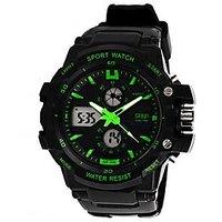Skmei Round Dial Black pu Strap Men Quartz Watch for Men NWA05S012C0