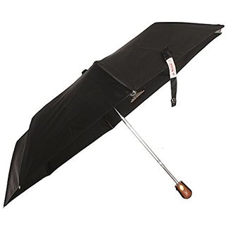 Sun Brand Black Classic 3 Fold Automatic Open UV Protective Umbrella