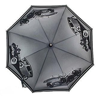 Sun Brand Cadillac Vintage Car Umbrella for Rain and Sun