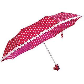 Sun Polka & Frill - Pink Umbrella