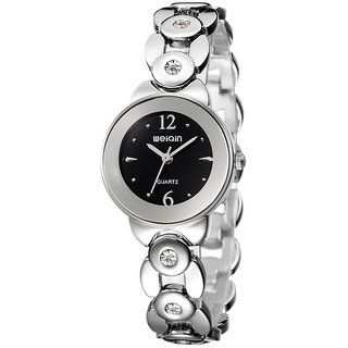 Weiqin Imported Trendy Casual Analog Stainless Steel Quartz Women Watch - NWA04S206C0