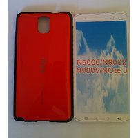 IFace Silicon  Back Cover For Samsung Galaxy Note 3 /N9000/9005/9002-red