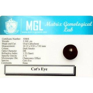 5 25 Ratti Lehsunia Cat S Eye Stone Prices In India Shopclues