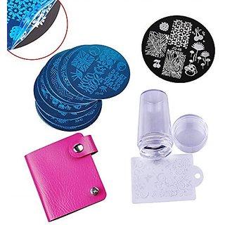 Buy Biutee 10 Nail Plates 1 Stamper 1 Scraper Nail Art Image