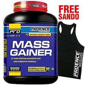 Proence Nutrition Mass Gainer 3Kg Chocolate
