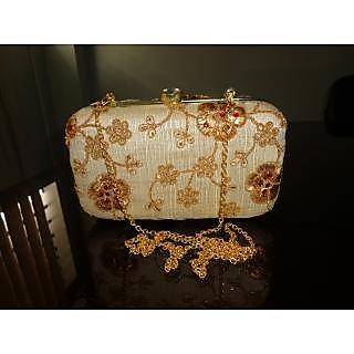 Women's Handmade Colorful Embroidery Clutch Purse/Handbag