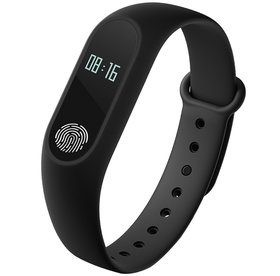 M2 Smart Fitness Band With Heart Rate Sensor/Pedometer/Sleep Monitoring Functions