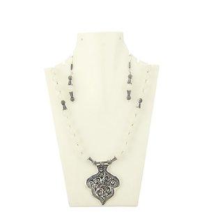 Arihantt Jewels Stylish Diva Antique Pearl Necklace