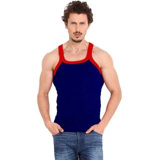 Fashion Trend Mens Navy Gym Vest