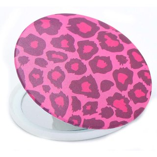 Color Fever Dual Magnifying Compact Mirror (Pink Splash)