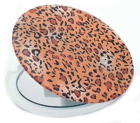Color Fever Dual Magnifying Compact Mirror (Tiger Sleave)