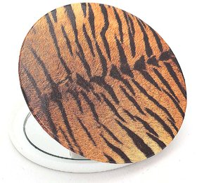 Color Fever Dual Magnifying Compact Mirror (Tiger One)