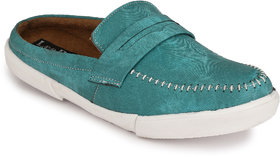 Lee Peeter Men's Green Casual Shoe
