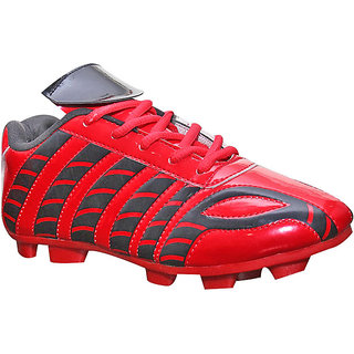 Port Mens Synthetic PVC Multicolor Football Soccer Shoes