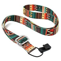 Futaba Printed Adjustable Nylon Strap Belt With Hook Fo