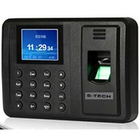 S-Tech Eco101 Biometric Attendance Machine with USB Excel Export. No Software required