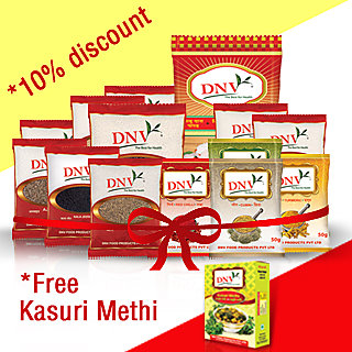 Family Pack of Spices - Free Kasuri Methi worth Rs 25