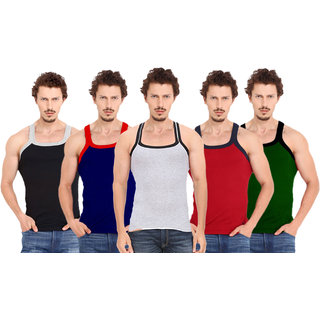 Fashion Trend Mens Gym Vest pack of 5