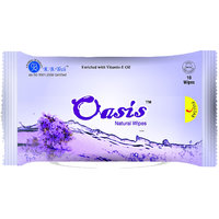 OASIS REFRESHING 10 PULLS WET WIPES (10 WIPES EACH) PACK OF 10  100 PULLS
