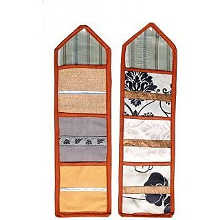 AS Set of 2 Multiple 3 pocket Wall Hanging  - Multicolors