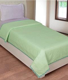 Luxmi Beautiful  Nice looking Plain Top sheets 1 pc - Green