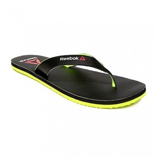 dab488878a84 Buy Reebok Advent Black Flip Flops Online - Get 10% Off