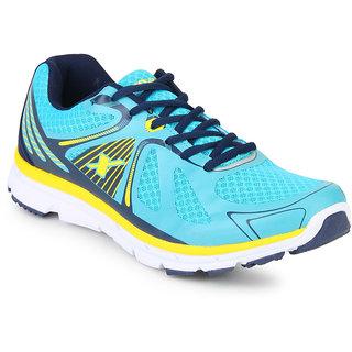ac8e2f7cc23811 Buy Sparx Men Turkey Blue & Black Running Shoes (SM-251) Online ...
