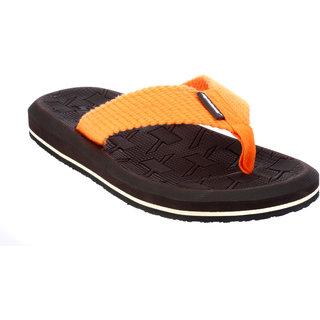 Sparx Men Brown & Orange Slippers (SFG-2040)