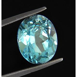 7.25 Ratti 100 Best Quality Blue Topaz  Birthstone By Lab Certified