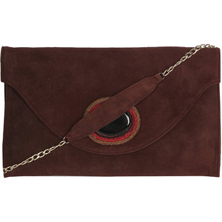 137794c6d828 Buy Jl Collections Women s Leather Brown Clutches Online - Get 5% Off