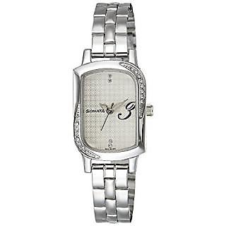 Sonata Analog Gold Contemporary Watch -87001SM01