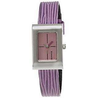Sonata Quartz Pink Dial Women Watch-8102SL06