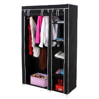 Folding Wardrobe Cupboard Almirah IV CFF available at ShopClues for Rs.1599