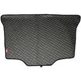 Elegant Magic Black Rear Car Boot (Dicky) Mat For Toyota Qualis 8 Seater